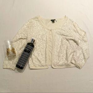 H&M sequin cardigan